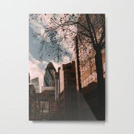 The Gherkin - London Metal Print