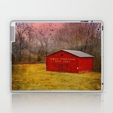 West Virginia Red Barn Laptop & iPad Skin
