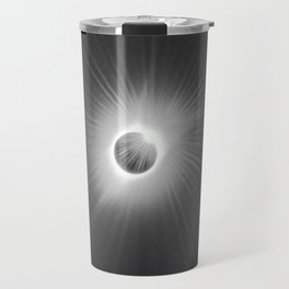Total Solar Eclipse Illuminated by Sun  Travel Mug