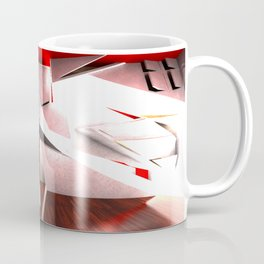 EXPLODING WALL Coffee Mug