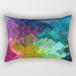 Just colors Rectangular Pillow
