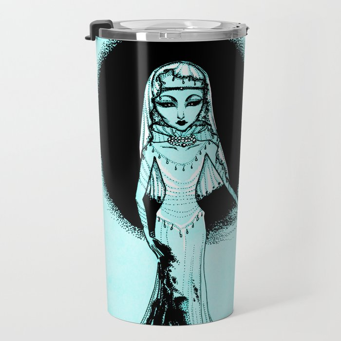 Cool Monochrome Girls: Two Goddess Travel Mug