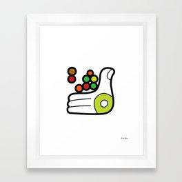 Planting Seeds Framed Art Print
