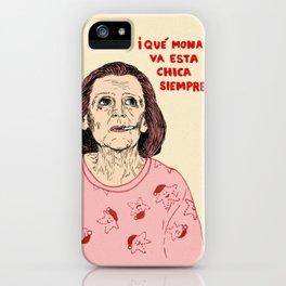 MARISA iPhone Case