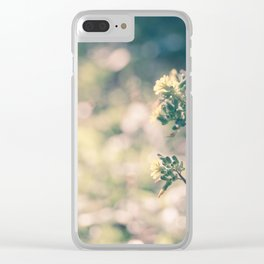 Floral 5 Clear iPhone Case