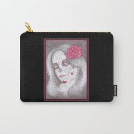 Dia De Los Muertos - Rose Carry-All Pouch