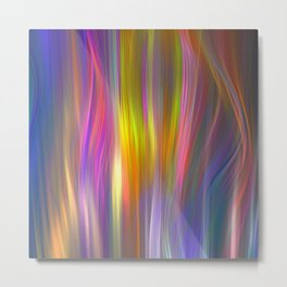 Color streams Metal Print
