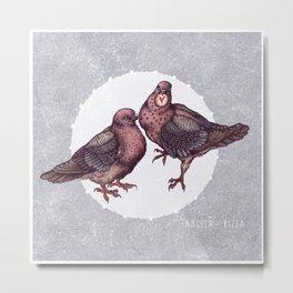 Be My Valentine by Angela Rizza Metal Print