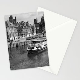King's Staith beside the river Ouse Stationery Cards
