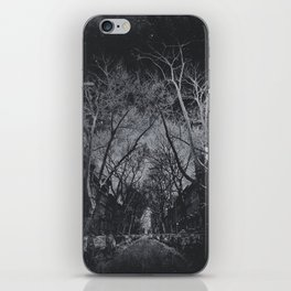 In the darkness iPhone Skin