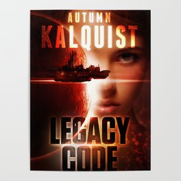 Legacy Code Book Cover Print Poster