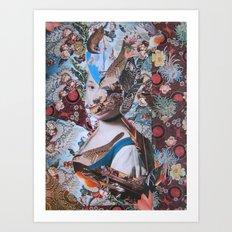 La Fanciulla di Rotari Art Print