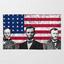 Sherman - Lincoln - Grant Rug