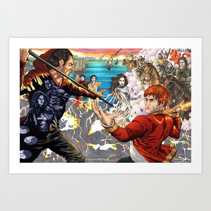 The Great Hunt Art Print