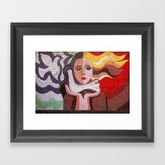 Hair Peace Framed Art Print