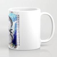 aquarius Mugs featuring Aquarius by Caroline Vitelli GOODIES