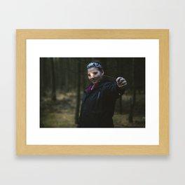 Sparkler Framed Art Print