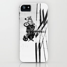 Helicopter Invention iPhone Case