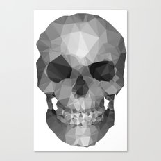 Polygons Skull Canvas Print