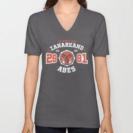 Zanarkand Abes Blitzball Athletic Shirt Distressed Unisex V-Neck