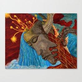 Fountain Head Canvas Print