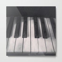 Tickle The Ivories Metal Print
