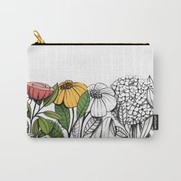 First summer blooms Carry-All Pouch