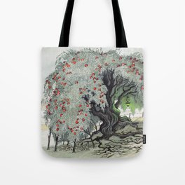 Old Tree At The Witch House Tote Bag