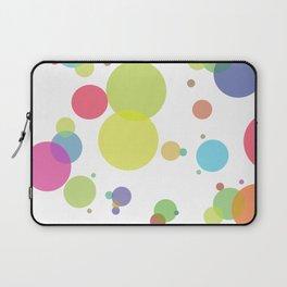 dots and circles Laptop Sleeve