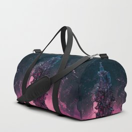 The Technocore / 3D render of futuristic structure Duffle Bag
