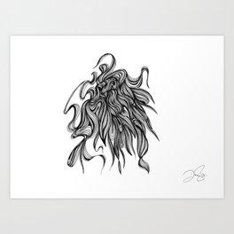 Lord Art Print