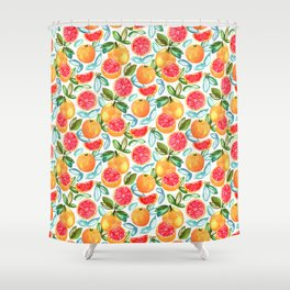 Grapefruits Shower Curtain