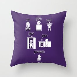 Common Commands Throw Pillow