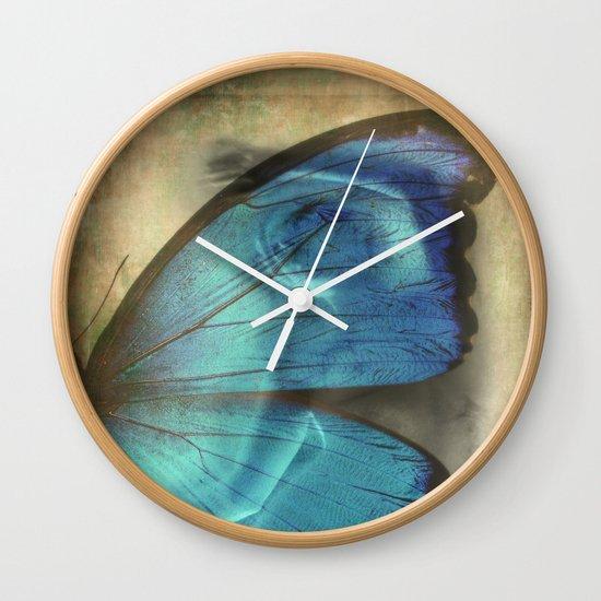 Lady Butterfly  Wall Clock