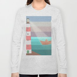 YOU ARE NOT ALONE (Origami) Long Sleeve T-shirt