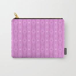Pink Metallic Gossamer Web Digital Art Carry-All Pouch