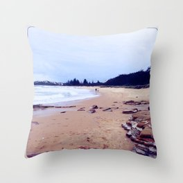 Silt and Pepper (color) Throw Pillow