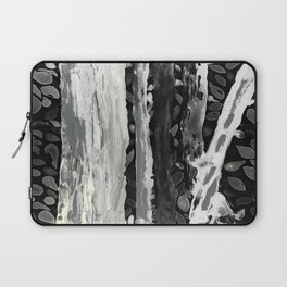 Rainbow Eucalyptus Graffiti artist tree from shedding bark South Pacific Night Time Moon Shadows Laptop Sleeve
