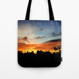 Night's Reflection Tote Bag