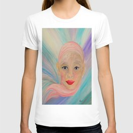 Bald is Beauty with BLUE Eyes T-shirt