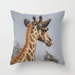 Giraffe 9 Throw Pillow