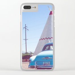 Sleep at the Wigwam, No. 2 Clear iPhone Case