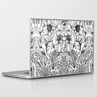 folk Laptop & iPad Skins featuring folk by gtrapp