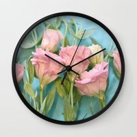 destiny Wall Clocks featuring Destiny by Lisa Argyropoulos