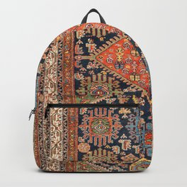 Hamadan  Antique West Persian Rug Print Backpack