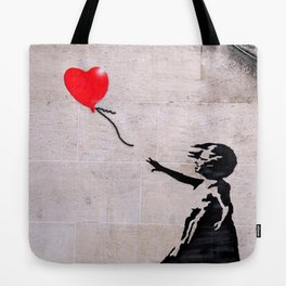 Banksy, Hope Tote Bag