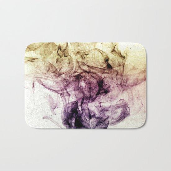 Beautiful Purple Brown Smoky Dust Bath Mat