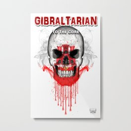 To The Core Collection: Gibraltar Metal Print