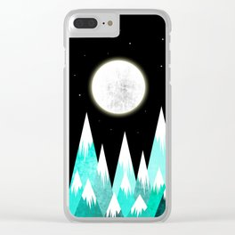 Beauty Night Clear iPhone Case
