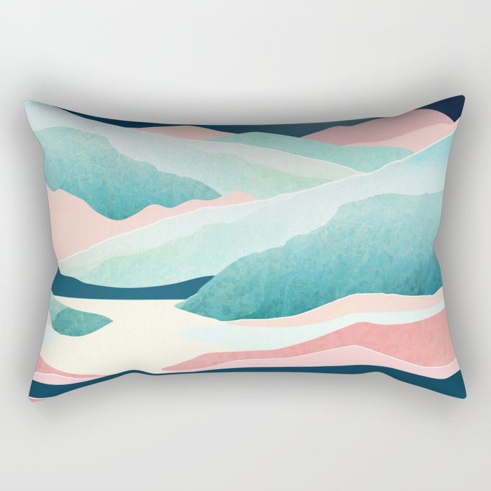 Tranquil Vista Rectangular Pillow